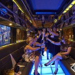 Limo-Bus-interior happy happy