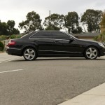 Mercedes Benz Sedan_black