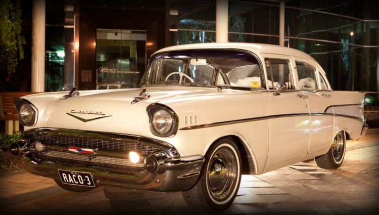 Chevrolet Bel Air (Roof view)
