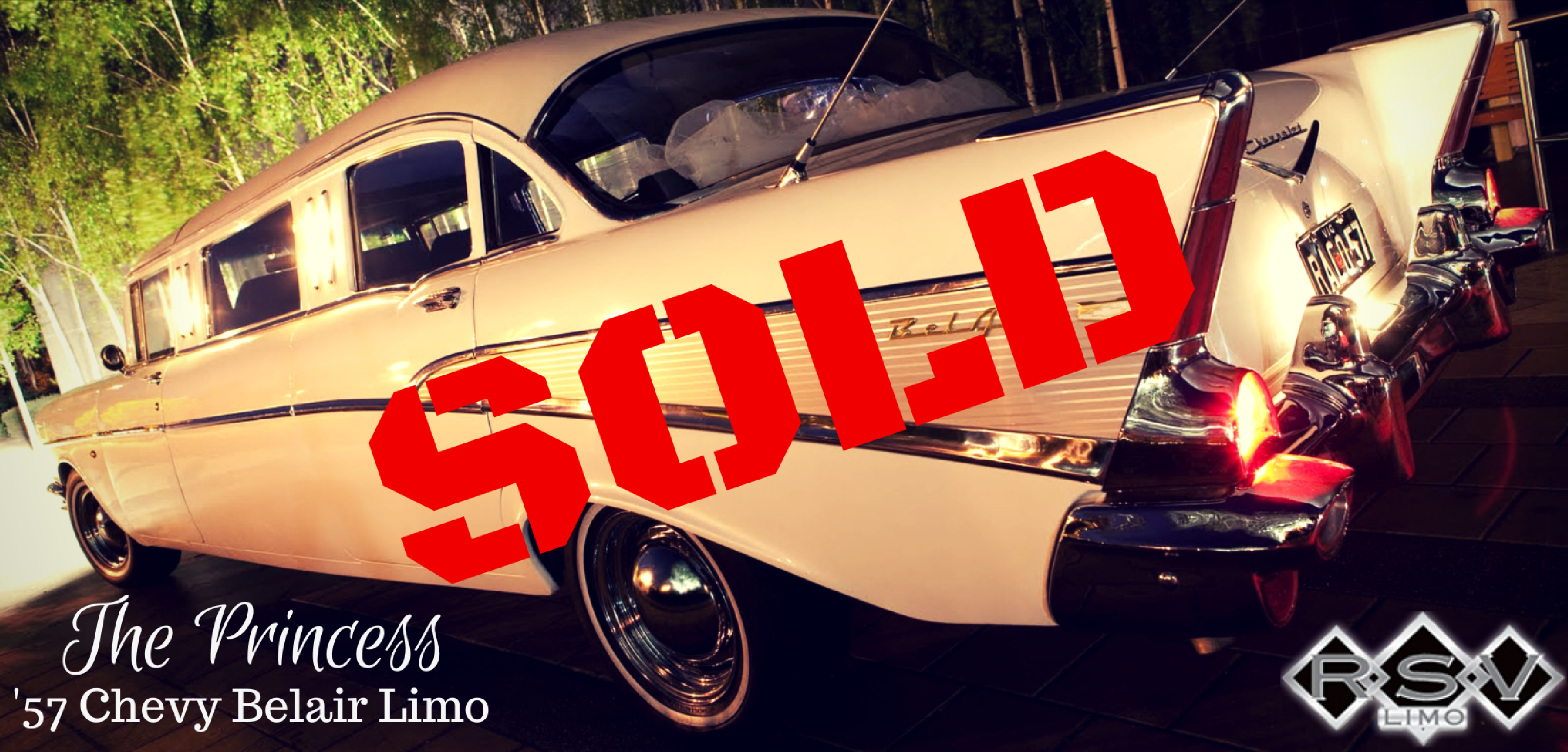 1955 Chevy Limo SOLD