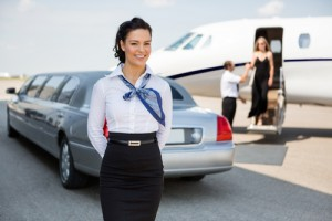 limousine hired for airport