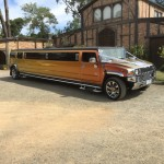 Hummer The Sunset Limo gold
