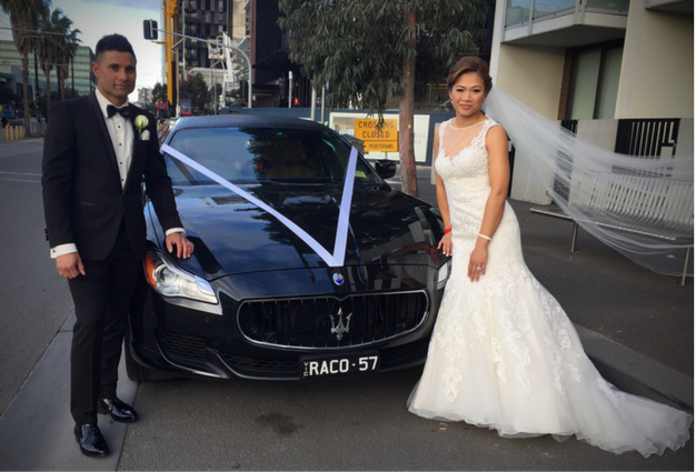 maserati-wedding-car