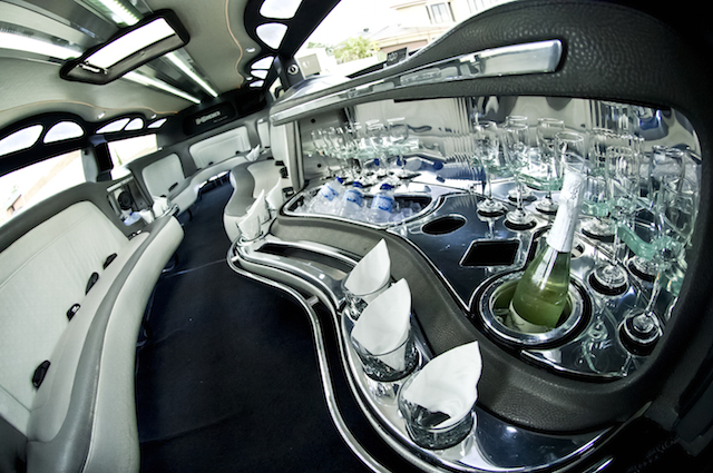 The Godfather Hummer Limo_inside