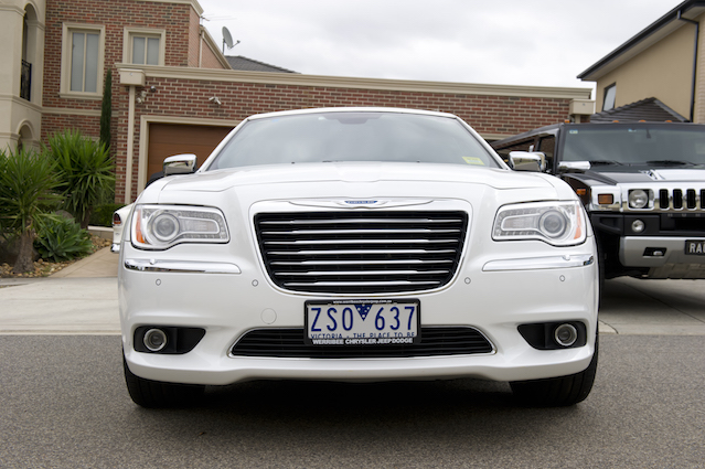 The Presidential Chrysler white