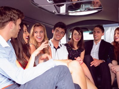 Limousine hired for service for birthday