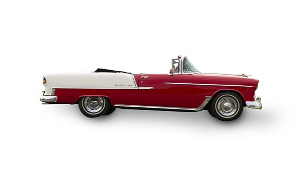 55 Belair Convertible (Side View)