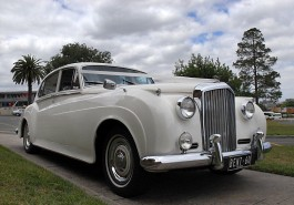 1960 Bentley Silver Cloud White