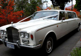 1974 Rolls Royce Stretch Limousines White