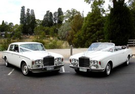 1974 Rolls Royce Silver Shadow Convertible White