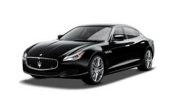 Black Maserati Quattroporte Sedan